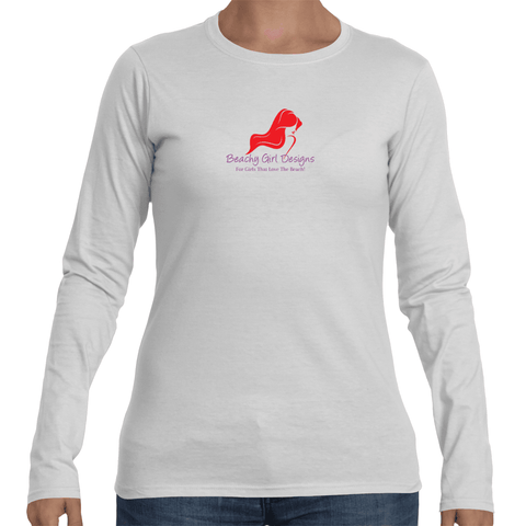 Soft Style Long Sleeve T-Shirt, (product type), (product vendor), (shop name)- Beachy Girl Designs