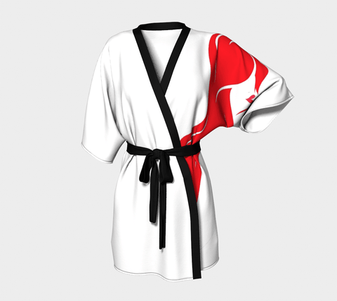 Beachy Girl Designs Kimono Robe-Left Arm Headshot-No Logo, (product type), (product vendor), (shop name)- Beachy Girl Designs
