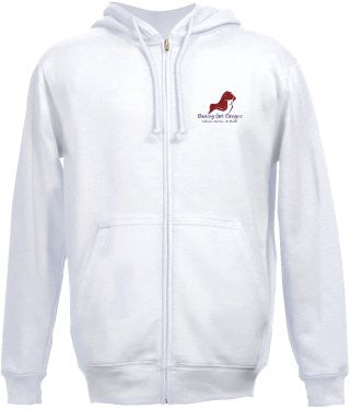 Embroidered Beachy Girl Designs Hoodie