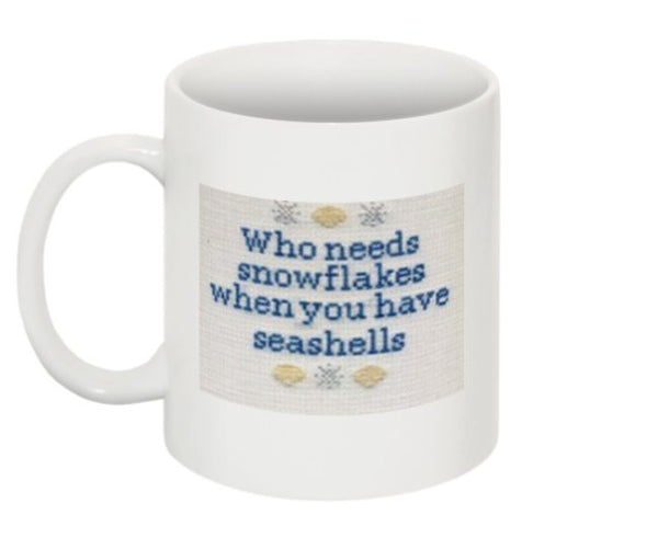 Who Needs Snowflakes Mug