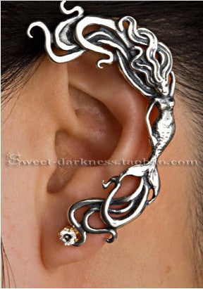 Cuff  Earring Mermaid