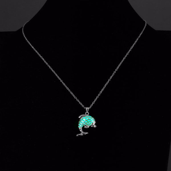 Fluorescent Necklace Dolphin