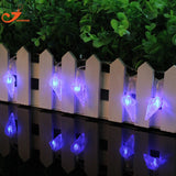 Sea Snail white string lights 3V battery powered 10LED