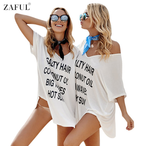 ZAFUL Salty Hair Swimsuit Cover Up