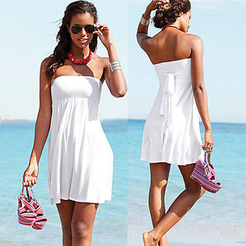 Stylish Loose Dress Swimsuit Cover Up