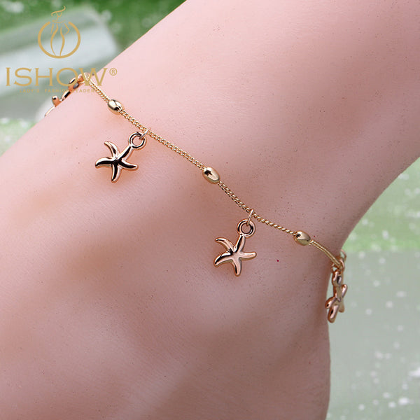 Starfish Anklet Chain