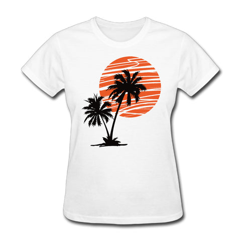 Palm Tree Moon T-Shirt