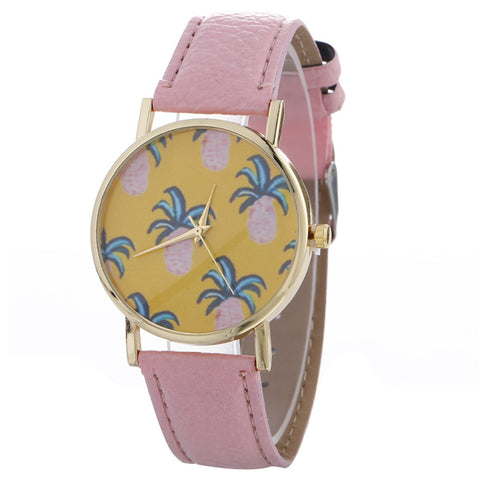 Pineapple Chimes Pattern Quartz Watch