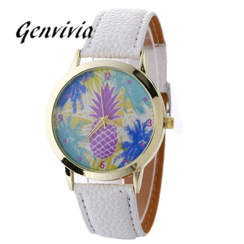 Quartz Pineapple Watch