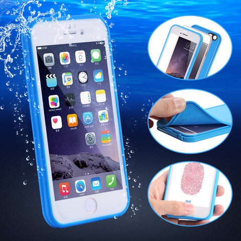 FLOVEME Waterproof Phone Case Cover For Apple iPhone 6 6S Plus