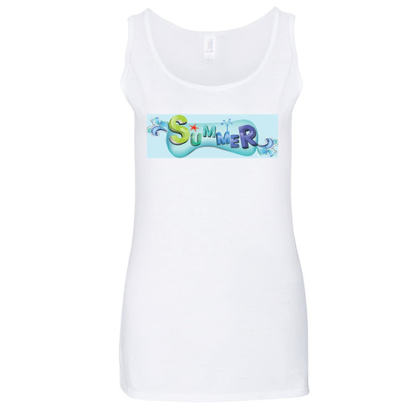 Summer Gildan® Junior Fit Softstyle Tank Top