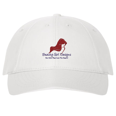 Sportsman Twill Cap with Velcro® Closure, (product type), (product vendor), (shop name)- Beachy Girl Designs