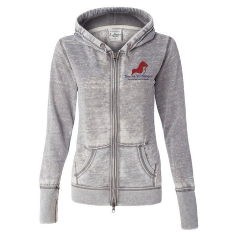 Ladies' Zen Fleece Full-Zip Hooded Sweatshirt, (product type), (product vendor), (shop name)- Beachy Girl Designs