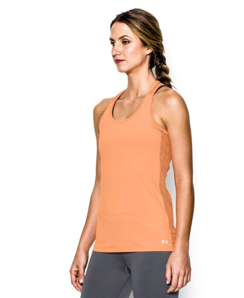 Under Armour Ladies Running Shirt Short Sleeve Tank Vent