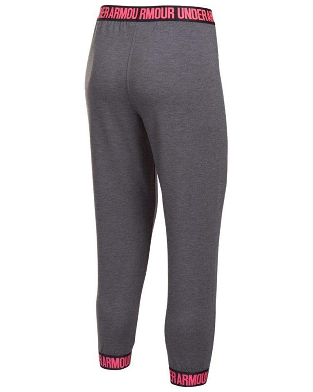 Under Armour Ladies Featherweight Fleece Crop Leggings Tights