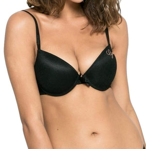Guess Ladies Push up Bra Black 32 D