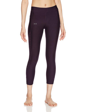 Under Armour HeatGear Supervent Crop Ladies Training Pant - SS17