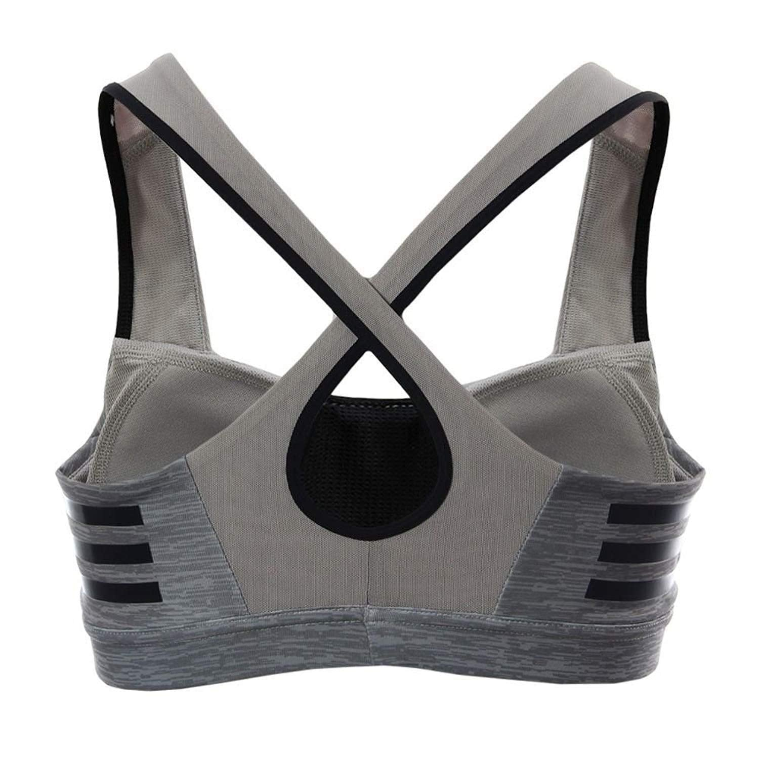 Adidas Infinite Series Supernova Ladies Sports Bra Grey Large
