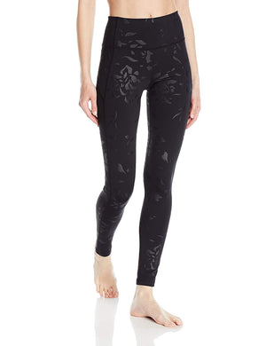 Under Armour Ladies Mirror Hi-Rise Printed Leggings Black, Small
