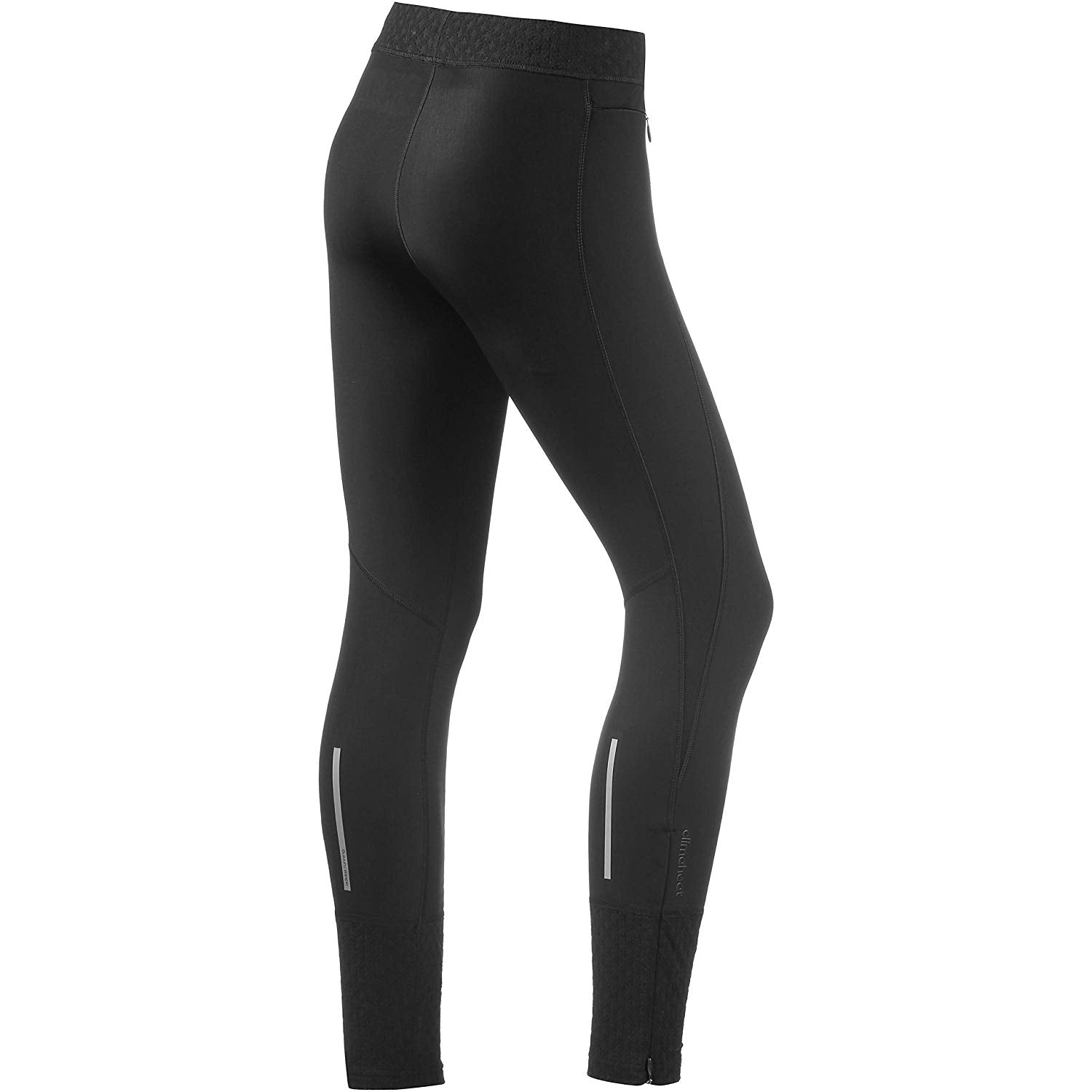 Adidas Clima Heat Ladies Outerwear Long Tights Black Large