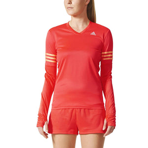 Adidas Ladies Running Shirt Long Sleeve T-Shirt