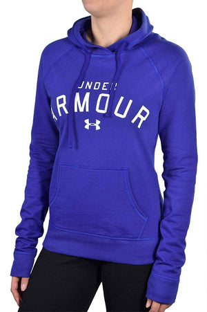 Under Armour Ladies Long Sleeve Pretty Gritty Big Logo Hoodie