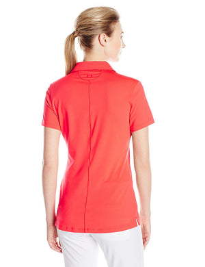 Under Armour Zinger SS Polo Shirt – Rocket Red/Cobalt/Red