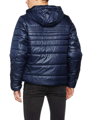 Adidas Men's Padded Jacket Navy Blue