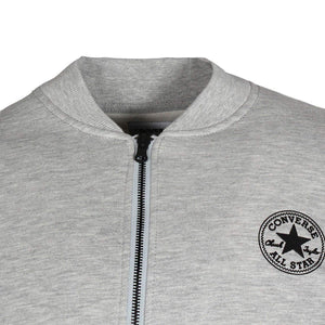 Converse Core MA- 1 Men's Bomber Sweat Jacket Vintage Grey X-Small