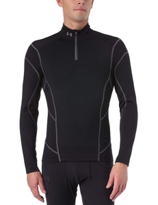 Under Armour Men's CG Fitted Hybrid Wind Block Long Sleeve Wind Top 1/2 zip Men
