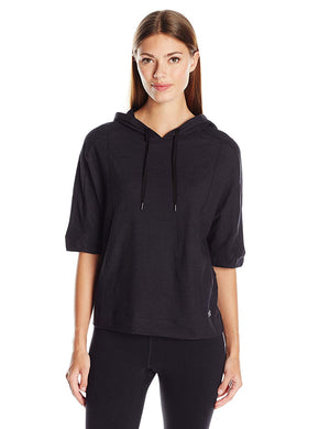 Under Armour Ladies Fashlete Oversized Hoodie Black Small