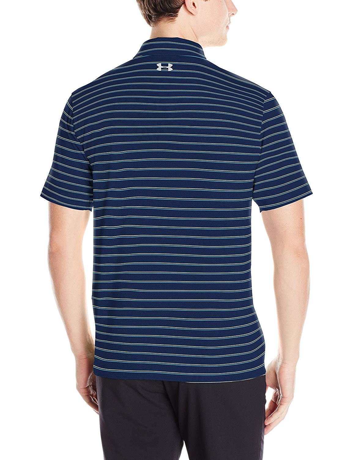 Under Armour Mens CoolSwitch Putting Stripe Polo Shirt