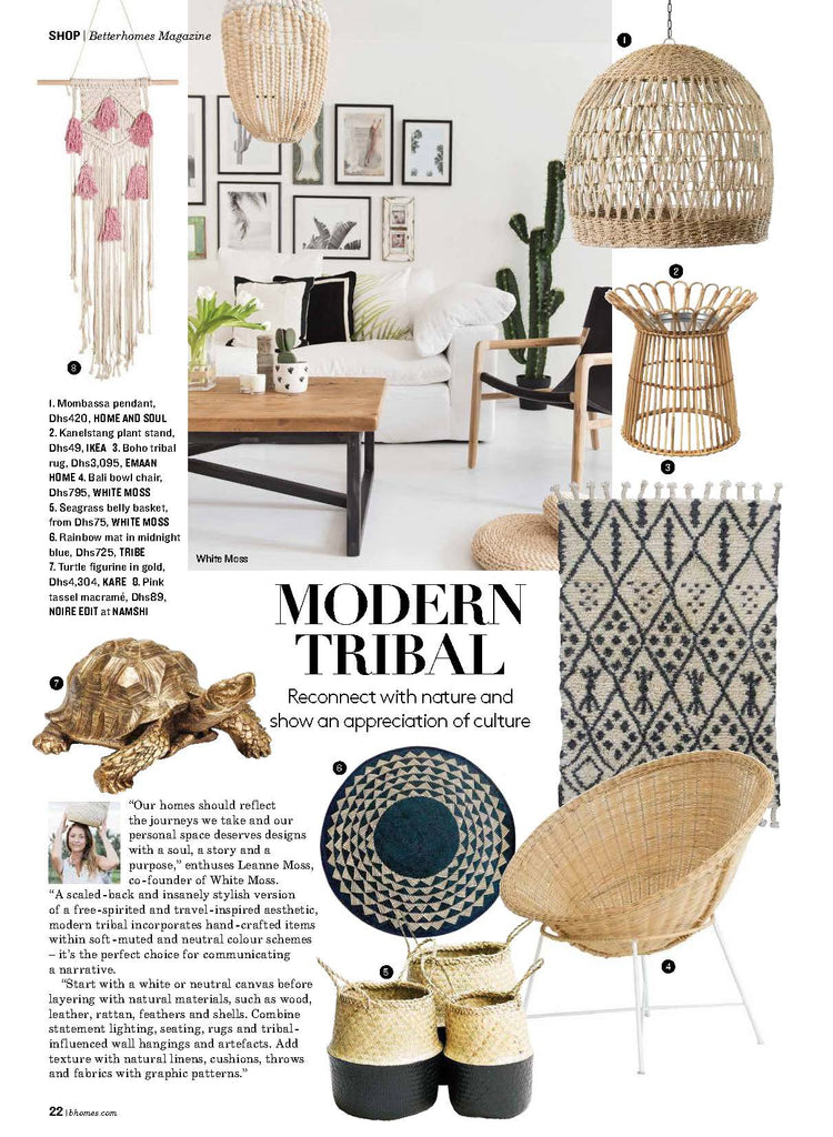 Boho Tribal Rug September 2018