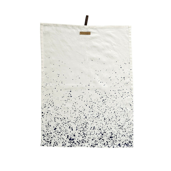 Blue Confetti Kitchen Towels, Set of 2