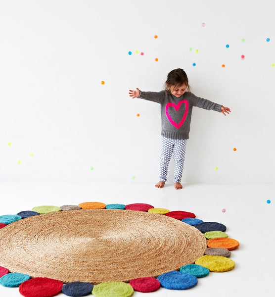 Daisy Rug, Junior Collection