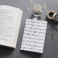 Letter Type - Blank Notebook