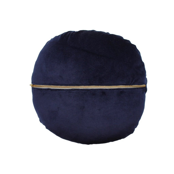 Elwyn Round Cushion - Cobalt