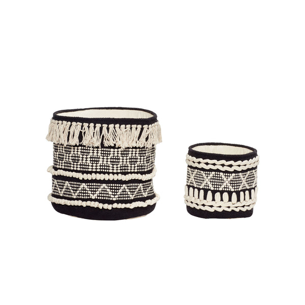 Gaia Round Baskets · Set of 2