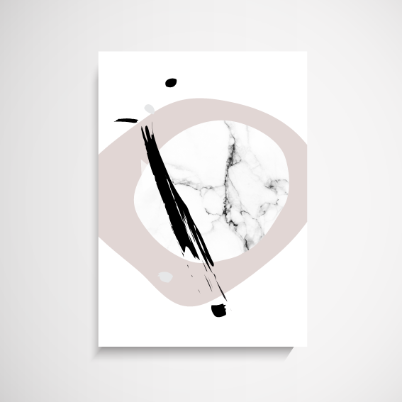 Glamour Abstract Print - 40 x 50cm