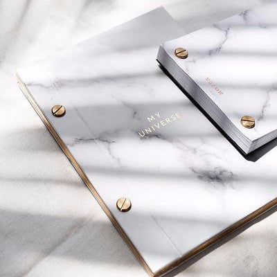 Marble and Gold Notebook | 17:LC