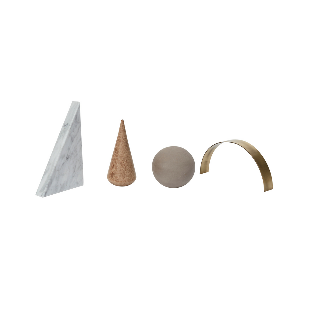 Desk Sculptures (Set of 4)