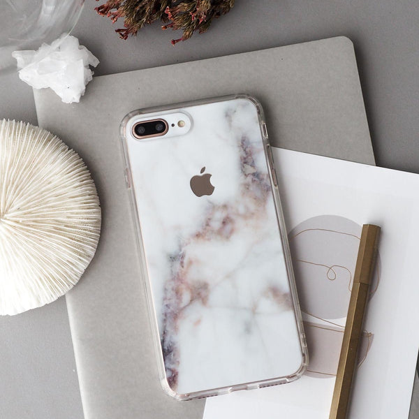 Nebula Marble Skin + Clear Case for iPhone | 18:LC