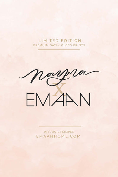 One Fine Pillow | Nayma X Emaan