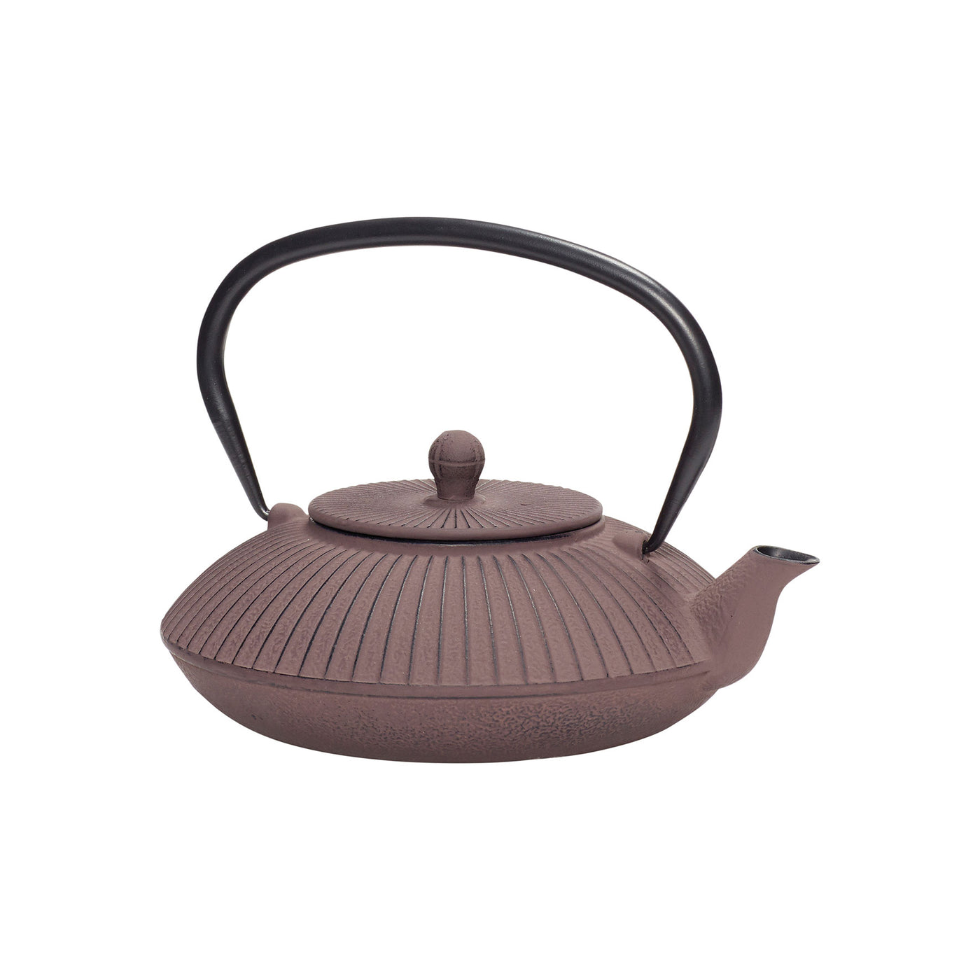 Plum Iron Teapot