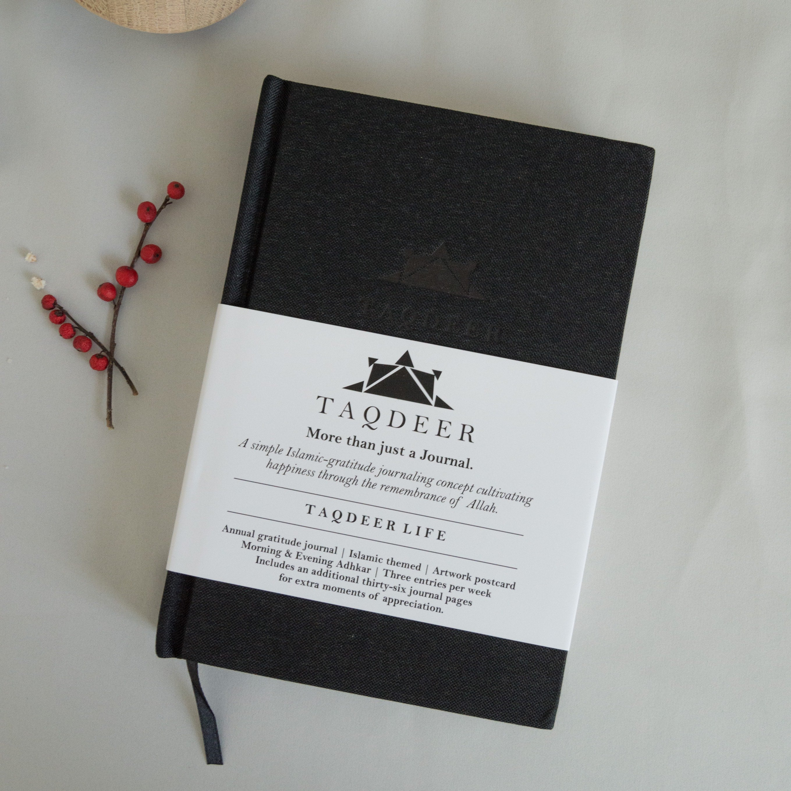 *In Stock* Taqdeer - Gratitude Journal