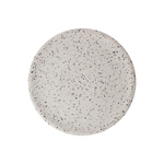 Large Terrazzo Dimple Tray - Snow