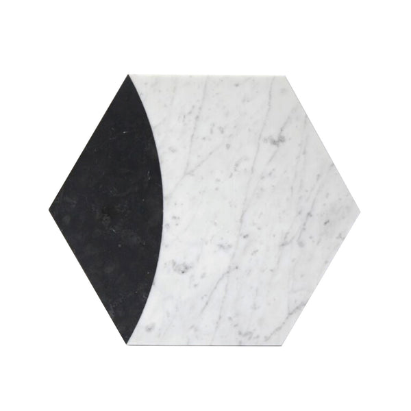 Vertex | Hexagon Marble Trivet