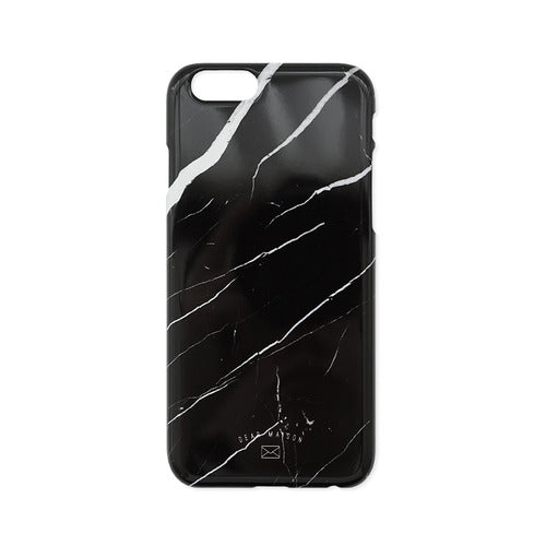 Black Marble Phone Cover