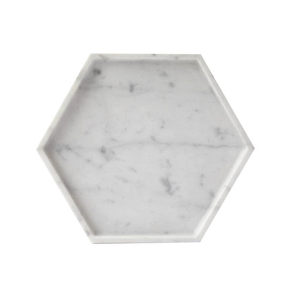 Hexagon Marble Tray *Premium Collection*