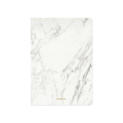 Stone Notebook - White Marble